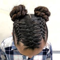 Pin by Samira Beldi on coiffure petite fille in 2020 Baby Girl Hairstyles, Ponytail Hairstyles, Cute Hairstyles, Updos, Girl Hair Dos, Hair Flip, Homecoming Hairstyles, Crazy Hair, Hair Designs