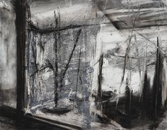 Through The Window - Garrett J. Cook, Artist - Oil Paintings & Charcoal Drawings