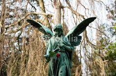 """Laden Sie das lizenzfreie Foto """"Friedhofsengel Hamburg Ohlsdorf #0811"""" von jrgn_flow zum günstigen Preis auf Fotolia.com herunter. Stöbern Sie in unserer Bilddatenbank und finden Sie schnell das perfekte Stockfoto für Ihr Marketing-Projekt!"""