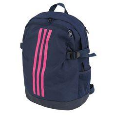 696ebe6663e7 adidas Power IV Medium Backpack Navy Casual Back to School Laptop Sports  DM7682