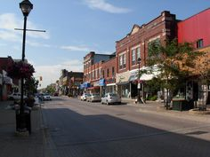 Downtown North Bay, Ontario- where locals shop local