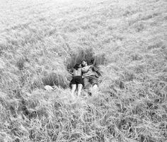 Oh how nice it is, laying in the tall grass... something I miss from my childhood