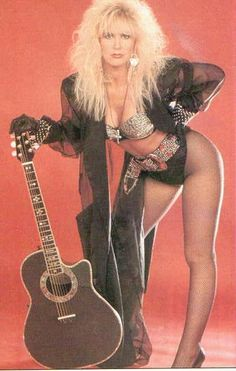 "Lita Ford~ God I love her. I'd name my Daughter ""Lita Roxette"" if I could ha..."