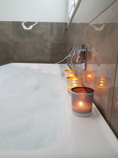 Nothing like a beautiful, scented candle in your bathroom! Make your own using the Candle Maker from Chandler & Me