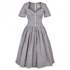 Weekender Dress gingham night