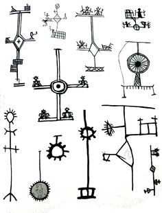 Shaman´s drum symbols in Scandinavia Lappland, Shaman Symbols, Alphabet Symbols, Angel Guide, Art Nouveau, Art Deco, Native American Art, Japanese Prints, Ancient Art
