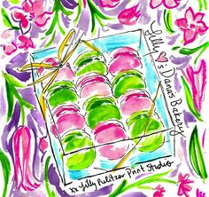 via @danasbakery Instagram- Lilly Pulitzer National Wear Your Lilly Day #SummerinLilly