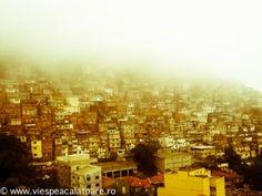 Favela in Fog