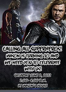 24 best thor birthday images on pinterest thor anniversary party camping birthday party complete package filmwisefo