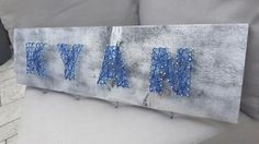Babyroom name - cute idea for baby decoration