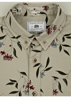 Penfield Men's Floral Print Lansdale Shirt | oki-ni (£59.00) - Svpply