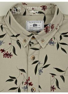 Penfield Men's Floral Print Lansdale Shirt   oki-ni (£59.00) - Svpply