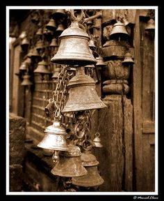 Nepalese bells by Mr. Llano