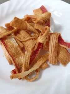 Fired crab stick using air fryer