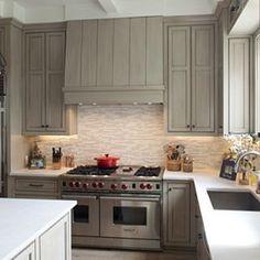 Geoffrey Chick Architect #rangehoods #statements #kitchen #interiordesign