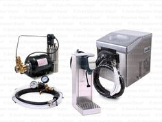 Complete Seltzer Tower Soda Fountain System w/ Compact Remote
