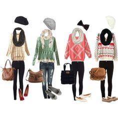 Cute And Stylish Back To School Outfits for the winter and autumn