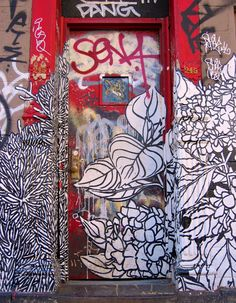 106 of the most beloved Street Art Photos – Year 2011 Street Art, Street View, Lower East Side Nyc, Nyc Pics, Alphabet City, Famous Castles, Painted Doors, Public Art, Graffiti Art