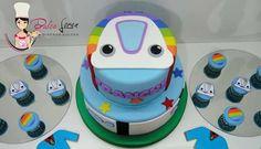 #dulceloren #Topa #juniorexpress #mesadulce #cookies #minicupcakes #torta
