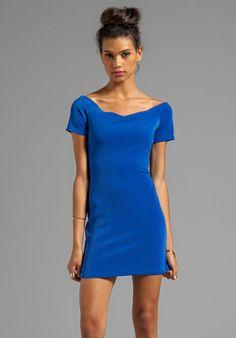 MINKPINK Roxanna Mini Dress in Blue at Revolve Clothing - Free Shipping! $61