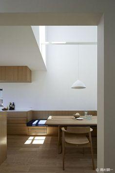 interior-design-home: Interior Design Addict: House-KT Tatsuro. asyrealtyco and homyme Interior Exterior, Home Interior, Kitchen Interior, Interior Architecture, Interior Decorating, Simple Interior, Japan Interior, Design Kitchen, Modern Interior