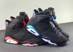 "Jordan Brand Replaces ""Infrared"" with ""University Blue"" on this Air Jordan 6"