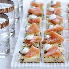 Mini Herb Frittatas with Smoked Salmon   Food & Wine