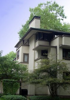 Martin House - Frank Lloyd Wright - Oak Park, IL.