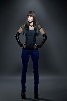Ksenia Solo Lost Girl Season 4 promoshoot