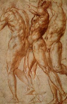 Jacopo da Pontormo - Studie zu Joseph in Ägypten 1517♥♥♥