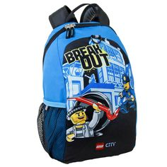 Lego City Backpack School Pre School Daycare Bag New Boys Girls  Kids