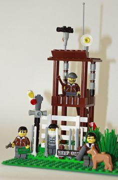 "Complete Set - Brick Set ""Guantanamo Camp"" (Artist: Jens Stoewhase)"