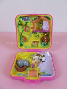 Polly Pocket Wild Zoo World 1989