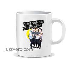 5 Seconds Of Summer Best Logo Ceramic Mug