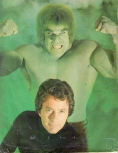 Lou Ferrigno and Bill Bixby from The Incredible Hulk