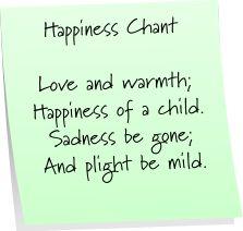 Happiness Chant