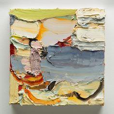 """Piccolo Mondo.  oil on canvas.  9"""" x 9""""  2013"""