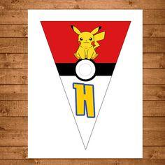 Banner de Pokemon rojo y blanco favores por NineLivesNotEnough
