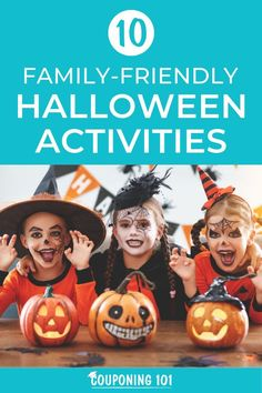 Take some time to try some of these Family-Friendly Halloween Activities out with your kids this year to help pass the time while waiting for Halloween to arrive. Halloween Goodies, Family Halloween, Saving Ideas, Money Saving Tips, Halloween Activities, Activities For Kids, Couponing 101, Best Savings, Cool Diy Projects