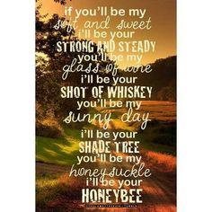 Blake Shelton Honey Bee Song Lyrics- not all country is lame ;)