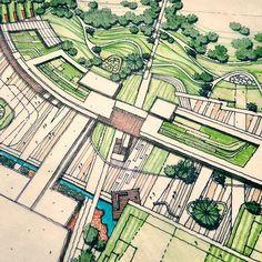 개복잡...#zigzag Bs #Environmental #Design #Group #LandscapeArchitecture &…