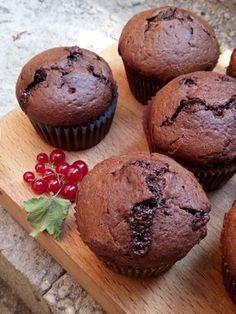 Csokoládés-ribizlis muffin | Nassolda
