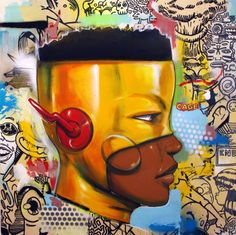"Contemporary Artist Hebru BrantleyArtist Hebru Brantley has a new show coming up at Vertical Gallery in February 2017. From their website: "" Brantley's pop-infused contemporary art is inspired by Japanese anime and the bold aesthetics of street art..."