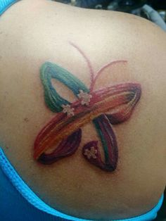 Autism butterfly tat