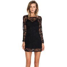 Ladakh Cornelli Lace Dress Dresses ($79) ❤ liked on Polyvore