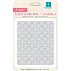 Echo Park - Designer Embossing Folders -  Quilted Star