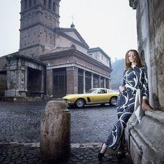 Verushka in Rome 1969
