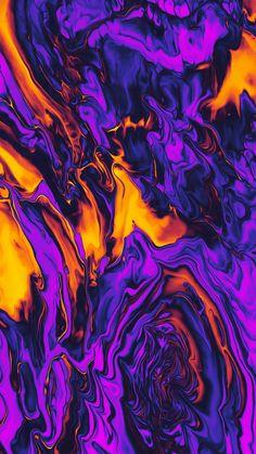 Abstract Fluid 002 Art Print by Geoglyser - X-Small Abstract Iphone Wallpaper, Graffiti Wallpaper, Trippy Wallpaper, Iphone Background Wallpaper, Apple Wallpaper, Colorful Wallpaper, Galaxy Wallpaper, Aesthetic Iphone Wallpaper, Cool Wallpaper