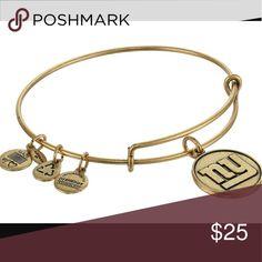 Gold Alex & Ani New York Giants New with tag Alex & Ani Jewelry Bracelets