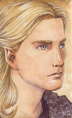 Finrod Felagund was a Noldorin Elf, the eldest son of Finarfin and Eärwen of Alqualondë in Aman. He was the brother of Galadriel, Angrod and Aegnor and thus the uncle of Orodreth, son of Angrod. Finrod founded the original Minas Tirith in the Pass of Sirion, and was later King of Nargothrond.